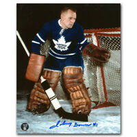 JOHNNY BOWER  ( MAPLE LEAFS )  BOTH PHOTOS  -  5 x 7 SIGNED PHOTO REPRINTS