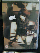SERIAL EXPERIMENTS LAIN VOLUME 3  DEUS  SEALED / NEW DVD R2 MANGA