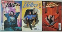 STAR WARS: LANDO #1,2 & 3 (2015) MARVEL COMICS 1ST APPEARANCE OF CHANATH CHA!