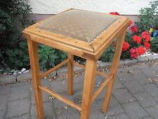 Massiver Hocker Klavier Flügel 1930 Sitz - Steh - hilfe Bügel Steh - stuhl Orgel
