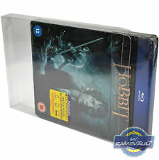 5 x Blu Ray Box Protector STRONG 0.4mm PET Plastic Case FITS Steelbook Slipcover