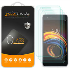 [3-Pack] Supershieldz Tempered Glass Screen Protector for LG K8S