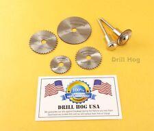 Mini Circular Saw Blade Set Wood Disc Cut Off Wheel Dremel Saw Die Grinder