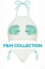 Ladies Primark Sea Shell 2-Pcs Bikini Swim Wear BNWT.
