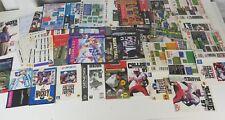 HUGE lot of Sports Sega Genesis Manual Instruction Booklets Artwork ! BUNDLE !