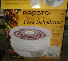 Presto 06301 Dehydro  Electric Food Dehydrator 4-tray system In original box