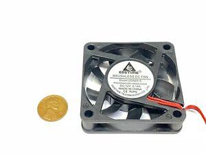 Ordinateur Ventilateur 12v 60mm 6cm PC Étui 2pin Refroidissement Radiateur 6015