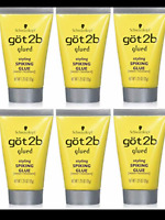 6X-GOT 2b GLUED STYLING SPIKING GLUE, HOLDS STRONG HAIR 1.25 Oz