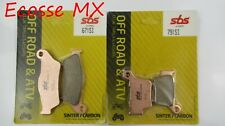 KTM SXF350 2011-2019 SBS BRAKE PADS 671SI 791SI