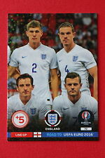ADRENALYN ROAD TO UEFA EURO 2016 LINE-UP ENGLAND 72  MINT!!!!