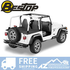 Bestop Duster Deck Cover 04-06 Jeep Wrangler Unlimited LJ Black Factory Hard Top