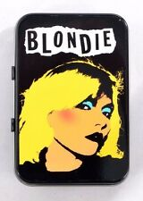 BLONDIE DEBBIE HARRY NEW WAVE AMERICAN PUNK CBGB ATOMIC SMALL HINGED TIN MINTS