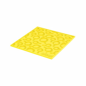 Lodge Square Silicone Skillet Trivet, Yellow AS7SKT21