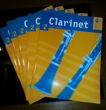 5X AMEB CLARINET Series 2, First Grade. 2 Parts.  Allens Pub. New
