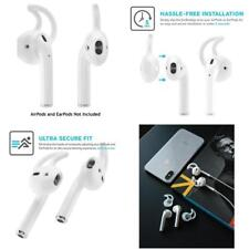 Earbuddyz 2.0 Apple Airpods And Earpods Covers And Hooks Attachment 2 Pairs New