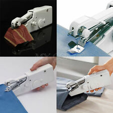 CORDLESS HANDHELD SINGLE STITCH SEWING MACHINE HOME TRAVEL CLOTHES RIP REPAIR