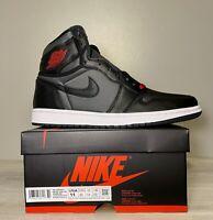 Air Jordan 1 Retro High  OG 555088060 Black/GYM Red Black-White Men's US Size 11