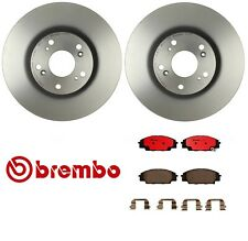 For Acura RSX 02-06 Type S Front Brake Rotors w/ Brake Pads Brake Kit Brembo