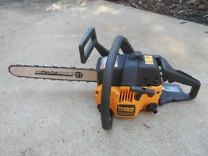 "POULAN PRO 260 CHAINSAW, 42CC, NEW 16"" BAR/CHAIN, REFURBISHED, STRONG RUNNER"