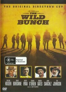 The Wild Bunch DVD William Holden New and Sealed Australia
