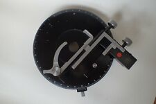 CARL ZEISS MICROSCOPE ROTATING MECHANICAL XY STAGE - PLATINE A MOUVEMENTS CROISE