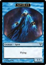 10X 1/1 Flying Blue Spirit  Token NM (4/8)  Avacyn Restored  MTG LOT