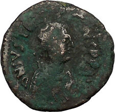 Justinian I 527AD Very big  Ancient Authentic  Medieval Byzantine Coin  i39354