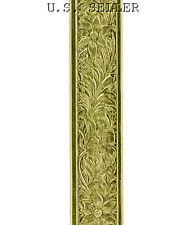 Flower Patterned Brass Wire 3 Foot Package 6mm Wide