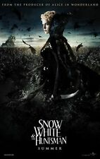 SNOW WHITE & THE HUNTSMAN- Orig D/S Movie Poster 27X40 - Adv. of Witch- C.THERON
