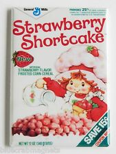 Strawberry Shortcake Cereal Box FRIDGE MAGNET (2 x 3 inches) cartoon 80's doll