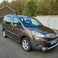 2012 Peugeot Partner Tepee 1.6 HDi 112 Outdoor 5dr MPV Diesel Manual
