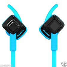 Jabees Beating Bluetooth Wireless Sweatproof Sports HD Stereo Headphones Blue