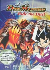 Duel Masters - Rule The Duel (DVD, Region 4) - Brand New, Sealed