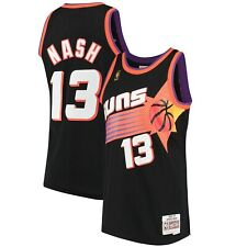 Phoenix Suns Steve Nash Mitchell & Ness Black 1996-97 Basketball Swingman Jersey