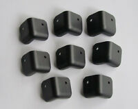 8x Metal Guitar AMP Speaker Cabinet Corner 2 Hole Amplifier Corners Black Color