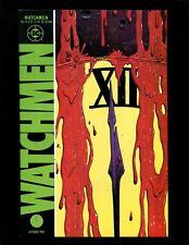 Watchmen #12 Vf+ Alan Moore Dave Gibbons Death Rorschach Ozymandias Dr Manhattan