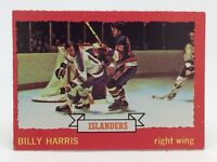 1973 74 OPC O Pee Chee Billy Harris 130 New York Islanders Hockey Card E675