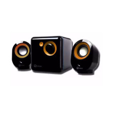 Keposon KP-2000 Surround Sound with 3D Stereo Computer Multimedia - Orange