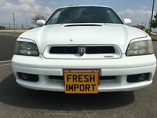 subaru legacy b4 be5 bh5 twin turbo white breaking for parts wheel nuts m57