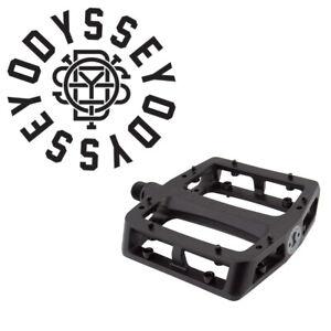 Odyssey P-211-BK Grandstand v2 Alloy BMX Bike Platform Pedals 9/16 Tom Dugan