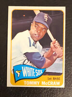 1965 Topps Tommy McGraw Card #586 EX-NM Chicago White Sox SP Short Print