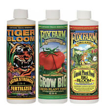 FoxFarm Soil Trio Tiger Bloom, Grow Big, Big Bloom, Pint 16 oz