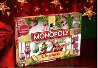 Monopoly Christmas Board Game Toy Fun Play Brand New Gift