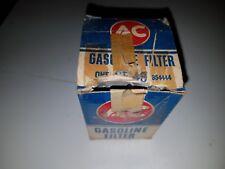 NOS AC Delco Glass Bowl Fuel Filter with element 1953-62 Corvette & Chevrolet