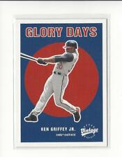2001 Upper Deck Vintage Glory Days #G14 Ken Griffey Jr. Reds