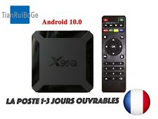 X96Q TV BOX Android 10.0 4K 2.4 Wifi 2gb Allwinner H313 Quad Core Multimédia