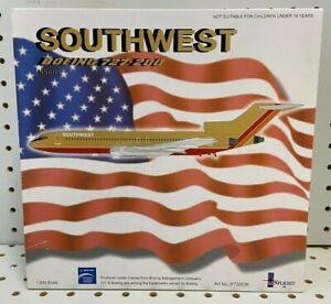 "Inflight 200 1:200 Southwest Boeing 727-200 6.3"" W/S Tail# N56IPE #IF722036"