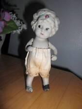 """Japan ~ Vintage Bisque Flapper Kewpie Doll 5"""""""