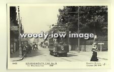 pp1757 - Bournemouth Tram no 14 in Westbourne 1909 - Pamlin postcard