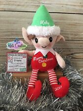 Elf Plush Toy Personalised Christmas - Elf on Shelf - Official Surveillance Card